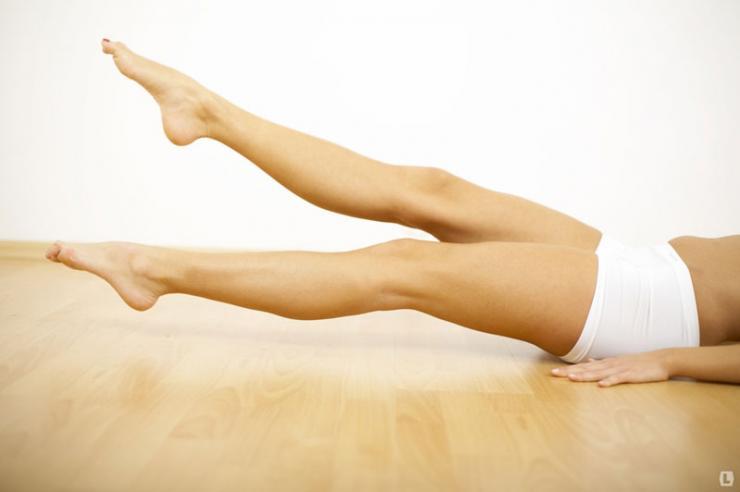 Упражнения для снятия отеков ног