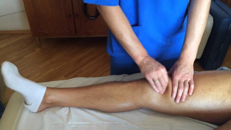 Правила проведения массажа ног после перелома