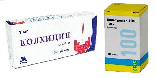 Лекарственные препараты от подагры