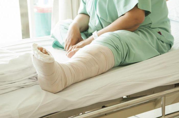 Правила оказания помощи при переломе стопы
