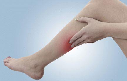 Что делать, если нога опухла, посинела и болит?