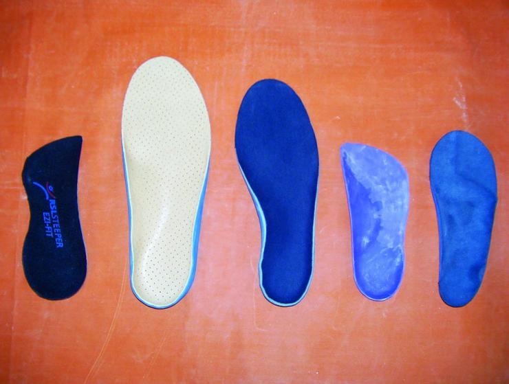 Критерии выбора стелек при плоскостопии