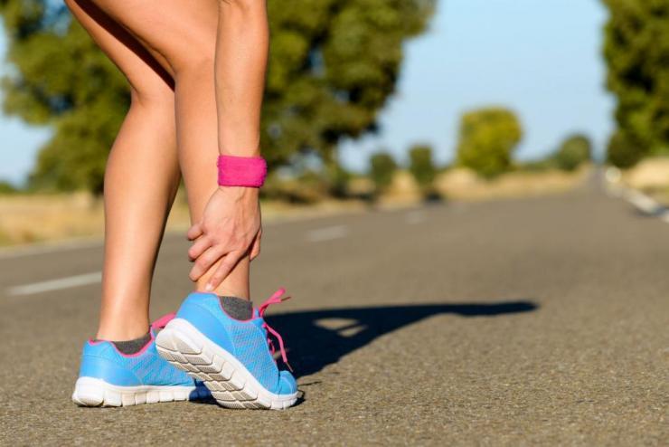 Что делать, если после бега возникает боль в голеностопе?