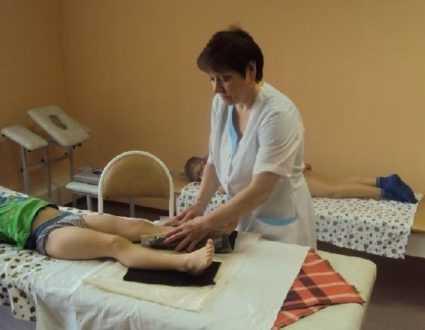 Физиотерапия при вальгусной деформации стопы