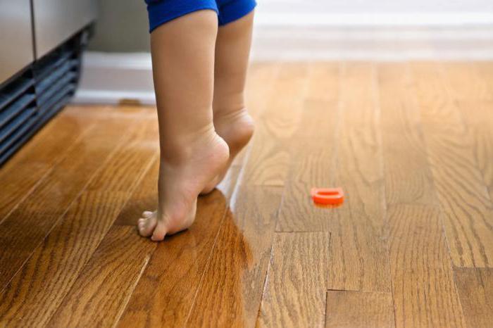 ЛФК для профилактики плоскостопия у детей