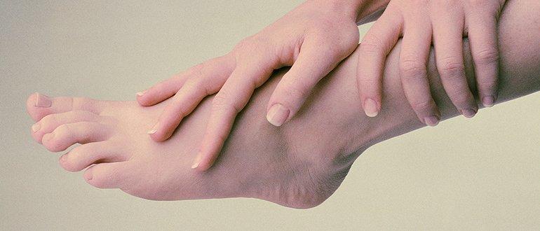 Покраснение на ноге и боль