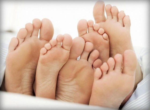Типы ступней человека и виды пальцев ног
