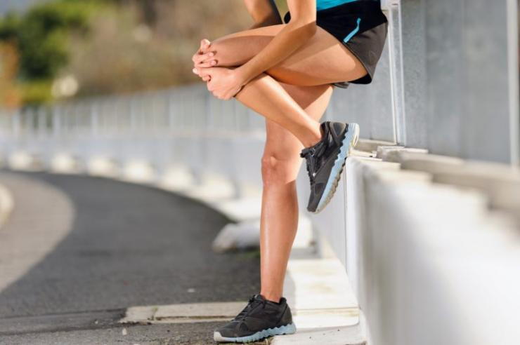 Предотвращение болей в коленях после фитнеса
