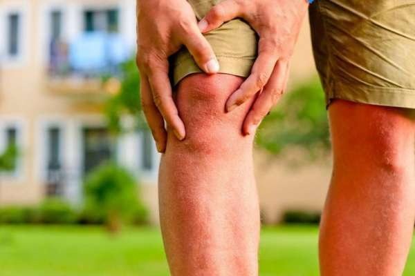 Почему дергается мышца на ноге выше колена?