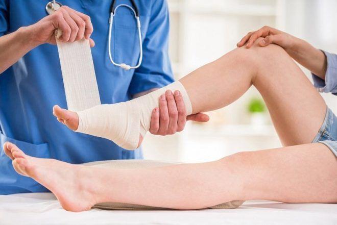 Виды и лечение перелома голеностопа