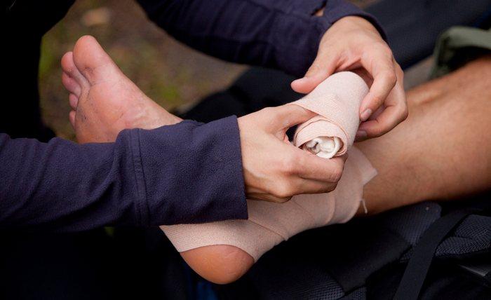 Сколько заживает перелом пяточной кости?