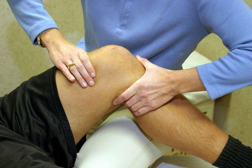 Диагностика ушиба колена