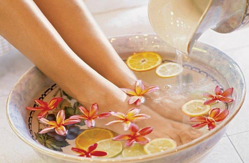 Народные рецепты ванночек для ног