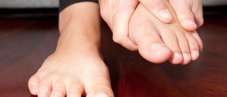 Краснеет большой палец на ноге
