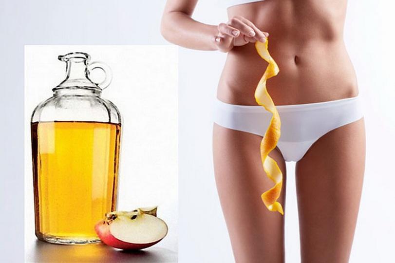 Яблочный уксус против целлюлита, обертывание от растяжек в домашних условиях