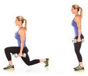 Комплекс упражнений для передней поверхности бедра