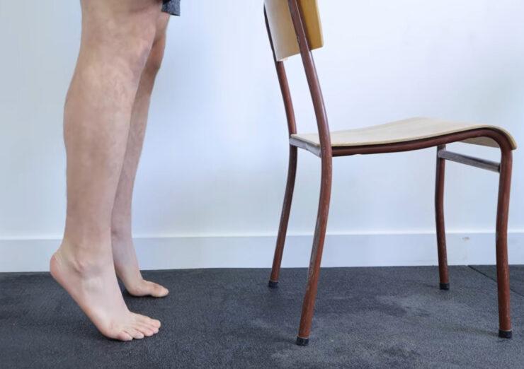 Упражнения для голеностопа для выпрямления позвоночника